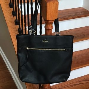 ♠️Kate Spade Pebbled leather tote ♠️used once!